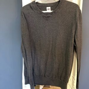 2/$30 Gap sweater dark grey